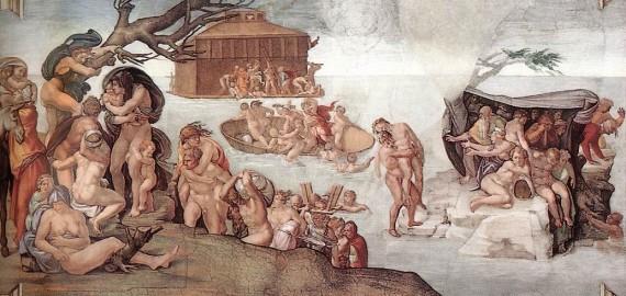 Velká potopa světa a její průběh